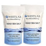 Dead Sea Salt Mineral Bathing For Irritated Skin 2 Pack