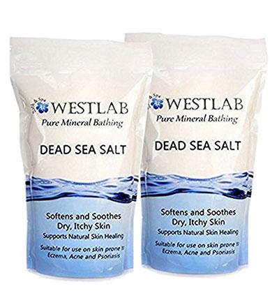 Dead Sea Salt Mineral Bathing For Irritated Skin 2 Pack