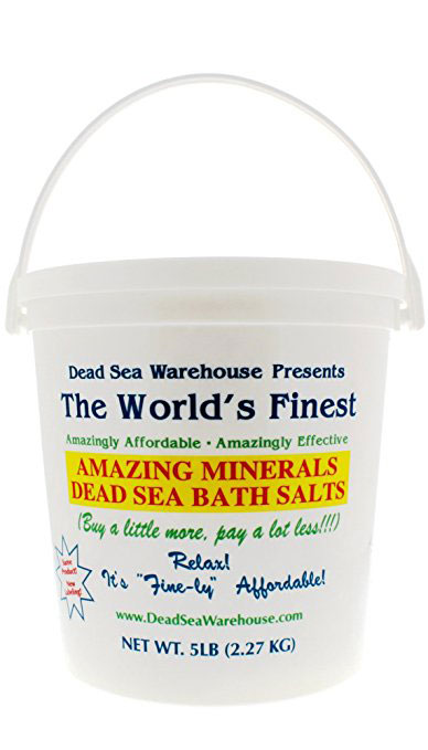 Dead Sea Warehouse Amazing Minerals Dead Sea Bath Salts