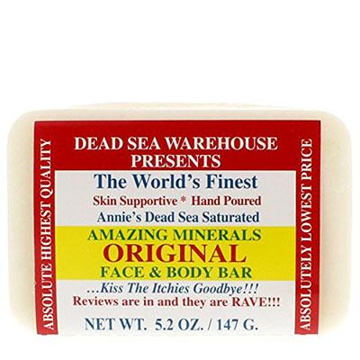 Dead Sea Warehouse Amazing Minerals Original Face & Body Soap Bar