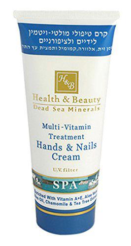 Health Beauty Dead Sea Multi Vitamin Hand & Nail Cream