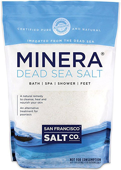 Minera Natural Dead Sea Salt Fine Grain – Bulk