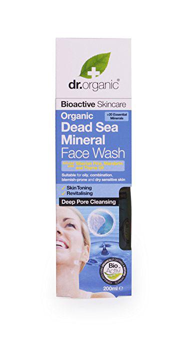 Organic Skincare Doctor Dead Sea Mineral Face Wash