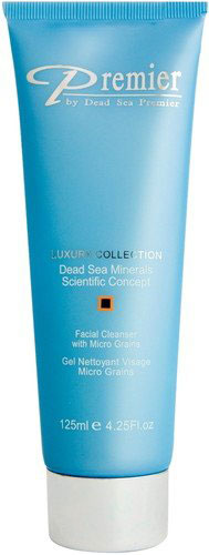 Premier Dead Sea Luxury Facial Cleanser With Micro Grains