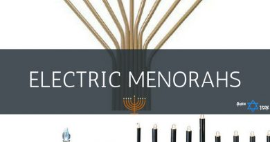 Electric Menorahs