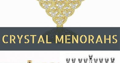 Hanukkah Crystal Menorahs 2
