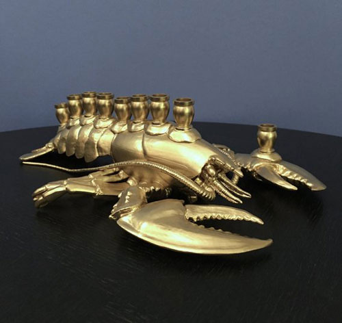 Menobster Lobster Menorah
