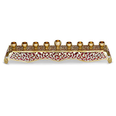 Orit Grader Leaves Menorah (available In Three Colors)