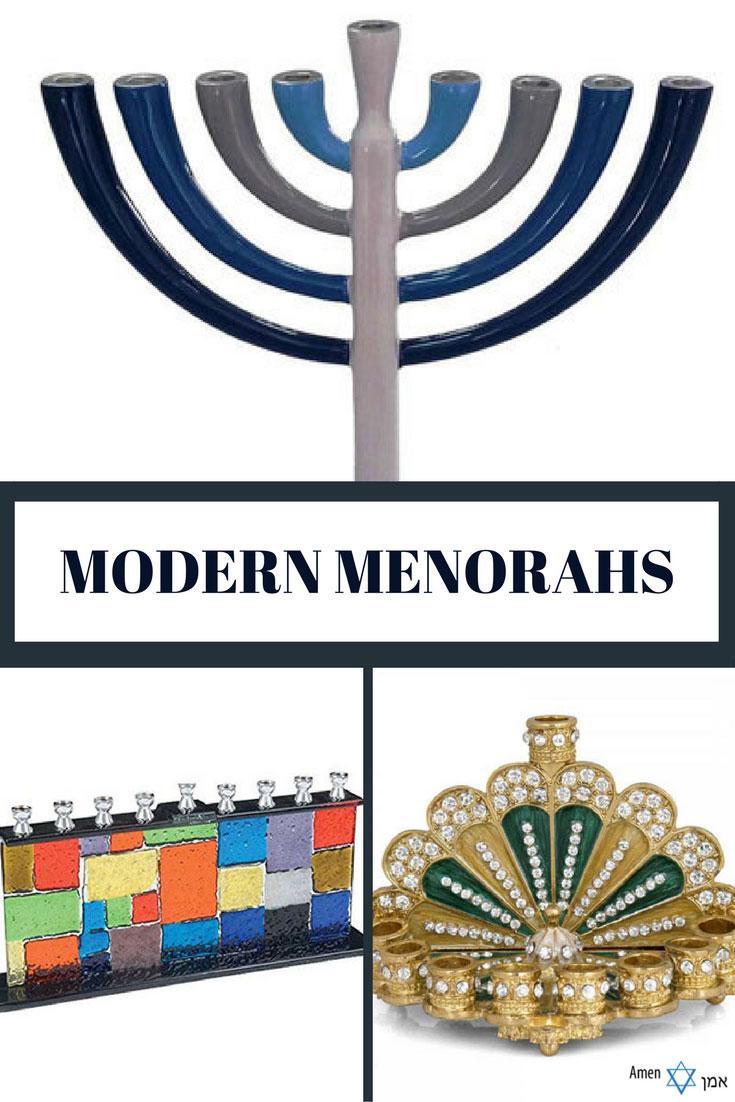 20 Unique Modern Menorahs For An Extra Fun Hanukkah
