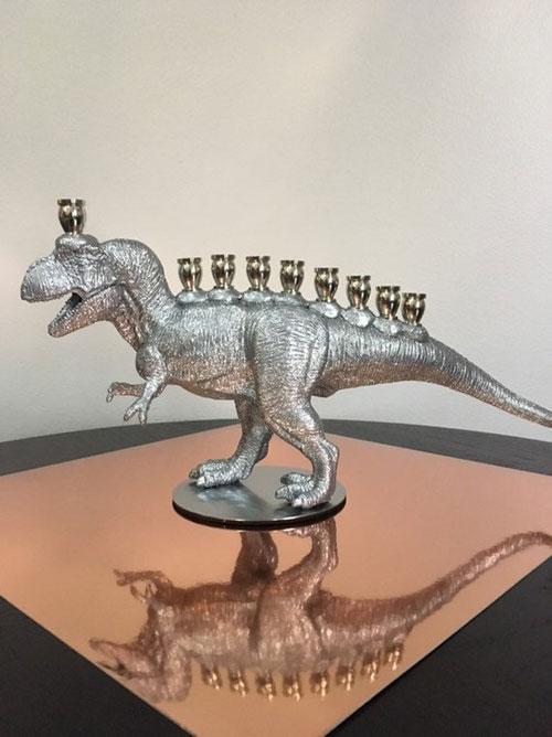 Sparkling Menorasaurus Rex