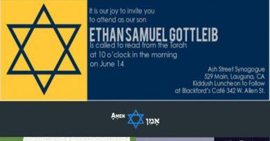 Bar Mitzvah Invitation Ideas
