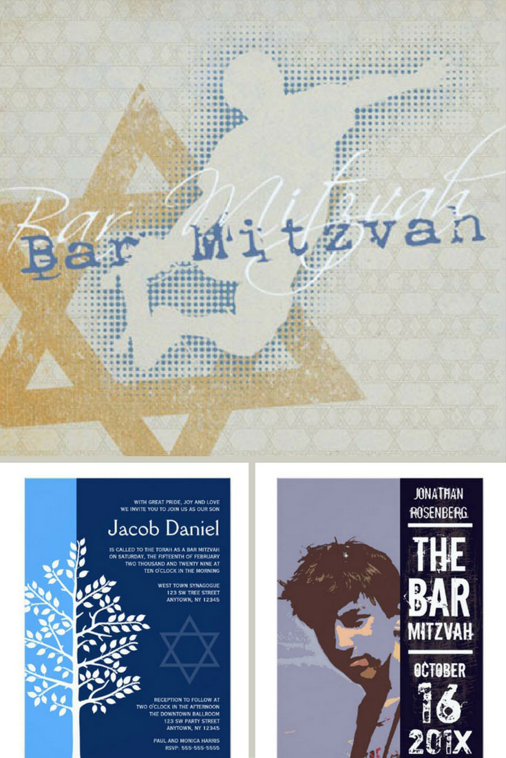 23 unique bar mitzvah invitations for an unforgettable event 2018 bar mitzvah invitations biocorpaavc Gallery