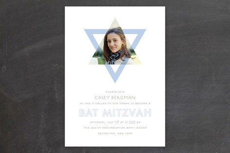Called Bat Mitzvah Invitation