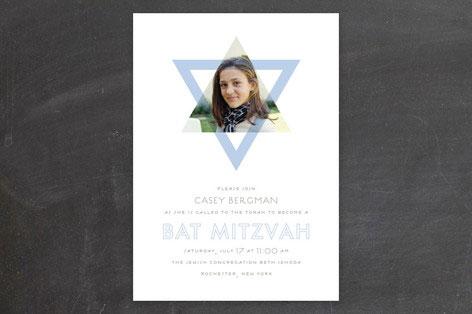 Called Bat Mitzvah Invitation