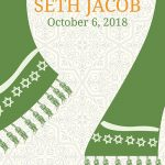 Hanging Shawl Bar Mitzvah Invitation
