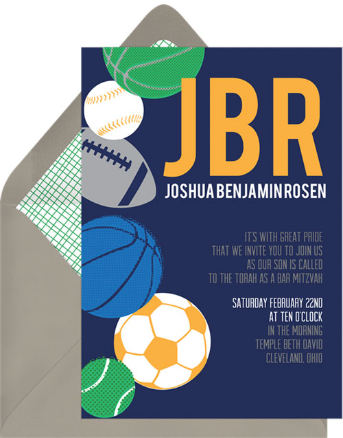 Sports Fan Invitation