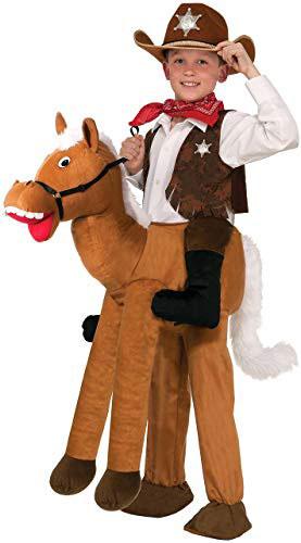 Child Ride A Horse Costume
