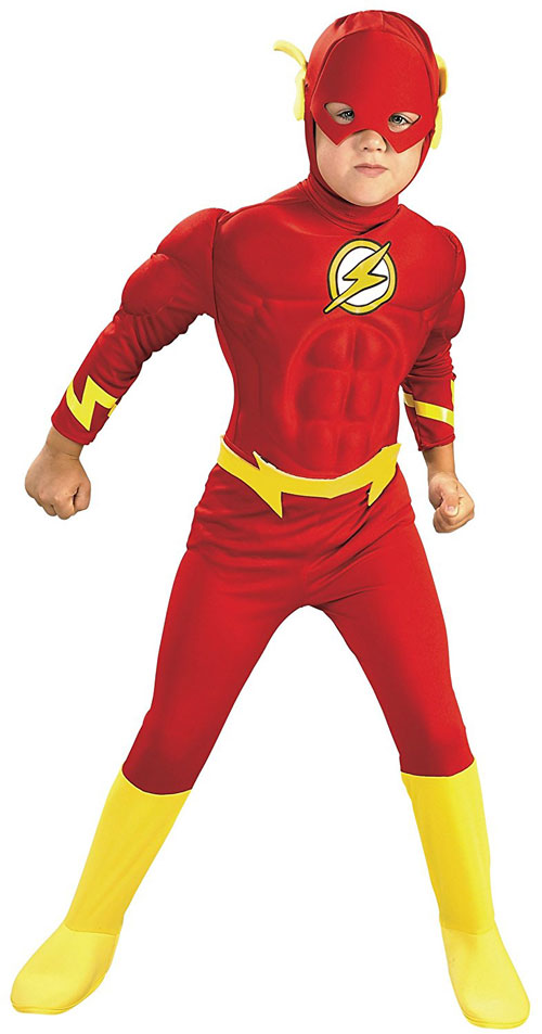Dc Comics Deluxe Muscle Chest The Flash Costume