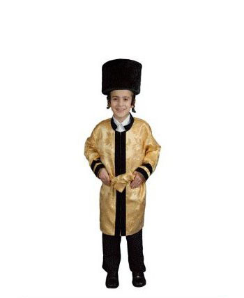 Jewish Grand Rabbi Robe Child Costume