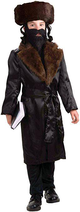 Jewish Rabbi Costume For Kids