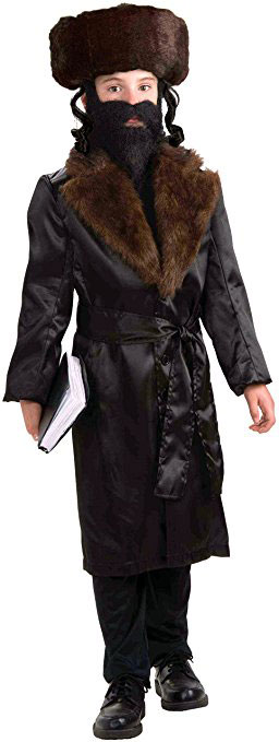 Jewish Rabbi Costume For Kids