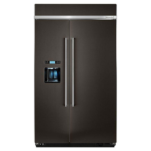 Kitchenaid Kbsd608ebs Side By Side Refrigerator