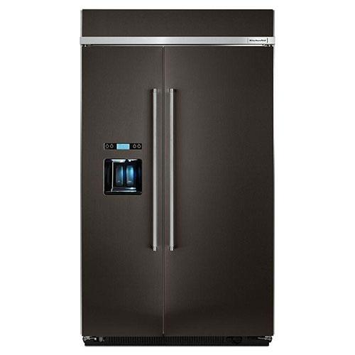 Kitchenaid Kbsd608ebs Side By Side Refrigerator