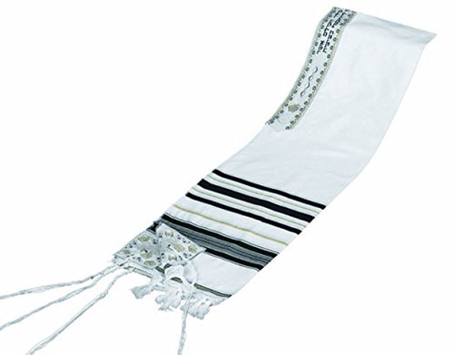 Mishkan Hatchelet Acrylic Tallit Prayer Shawl