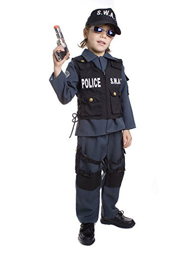 Swat Costume For Kids