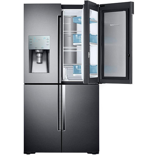 Samsung Rf22k9381sg 4 Door Flex Food Showcase French Door Refrigerator