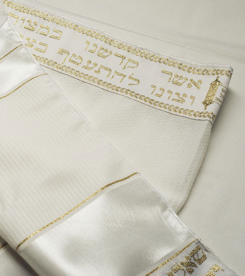 Talitnia Or Tallit Gold
