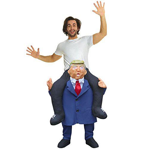 Trump Funny Piggyback Costume
