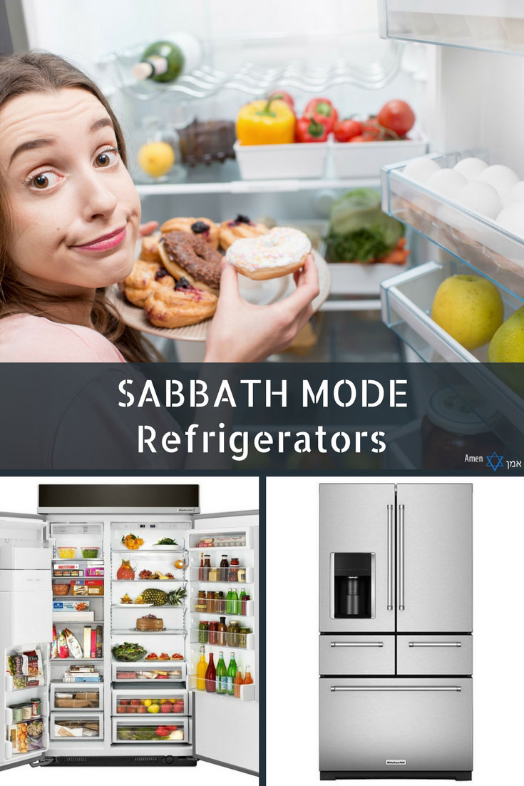 Sabbath Mode Refrigerators