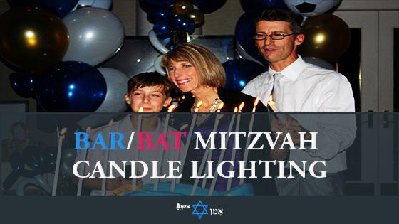 Bar & Bat Mitzvah Candle Lighting Ceremony