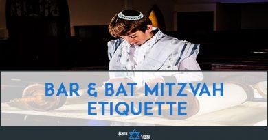Bar Bat Mitzvah Etiquette