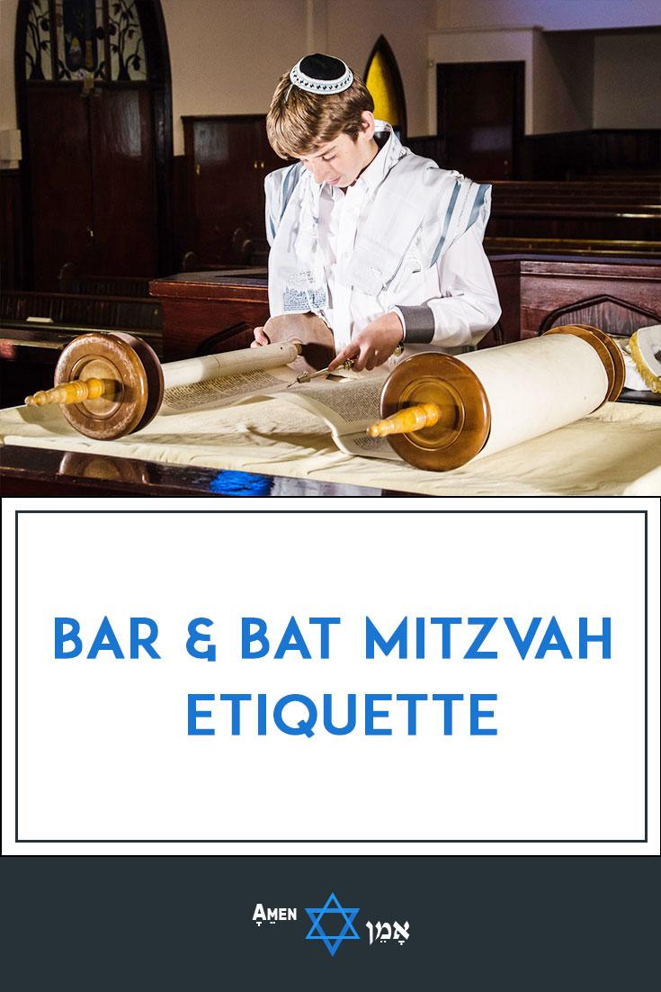 Bar Bat Mitzvah Etiquette Large
