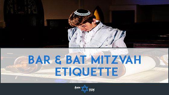 Bar Bat Mitzvah Etiquette