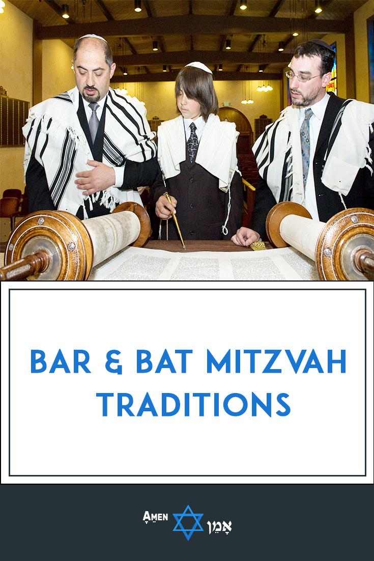 Bar Bat Mitzvah Traditions Large