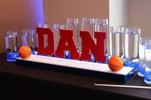 Basketball Theme Led Candle Lighting