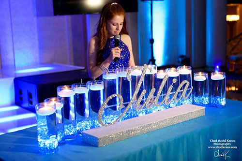 Bat Mitzvah Candle Lighting Sch