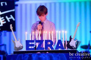 Music Themed Candle Lighting Display