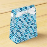 Random Blue Star Of David Favor Box