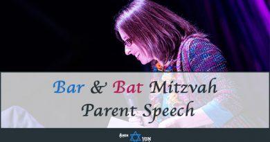 Writing Bar Bat Mitzvah Parent Speech