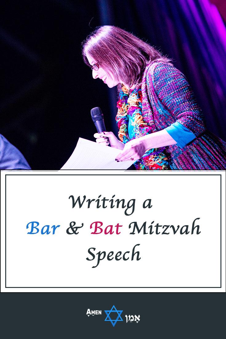 Writing Bar Bat Mitzvah Parent Speech Large