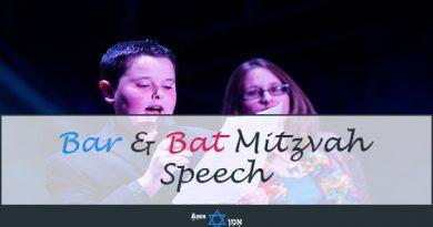 Bar Bat Mitzvah Speech