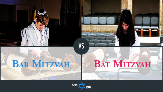 Bar Mitzvah Vs Bat Mitzvah
