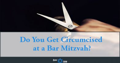 Do You Get Circumcised At A Bar Mitzvah