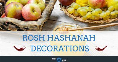Rosh Hashanah Decorations