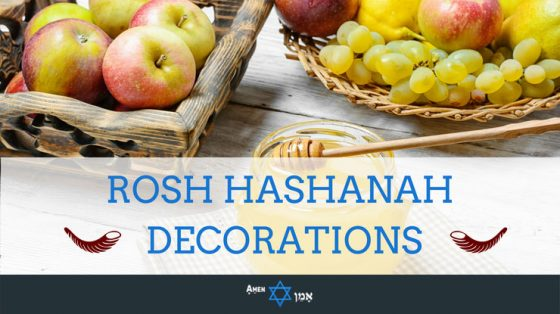 Rosh Hashanah Decorations
