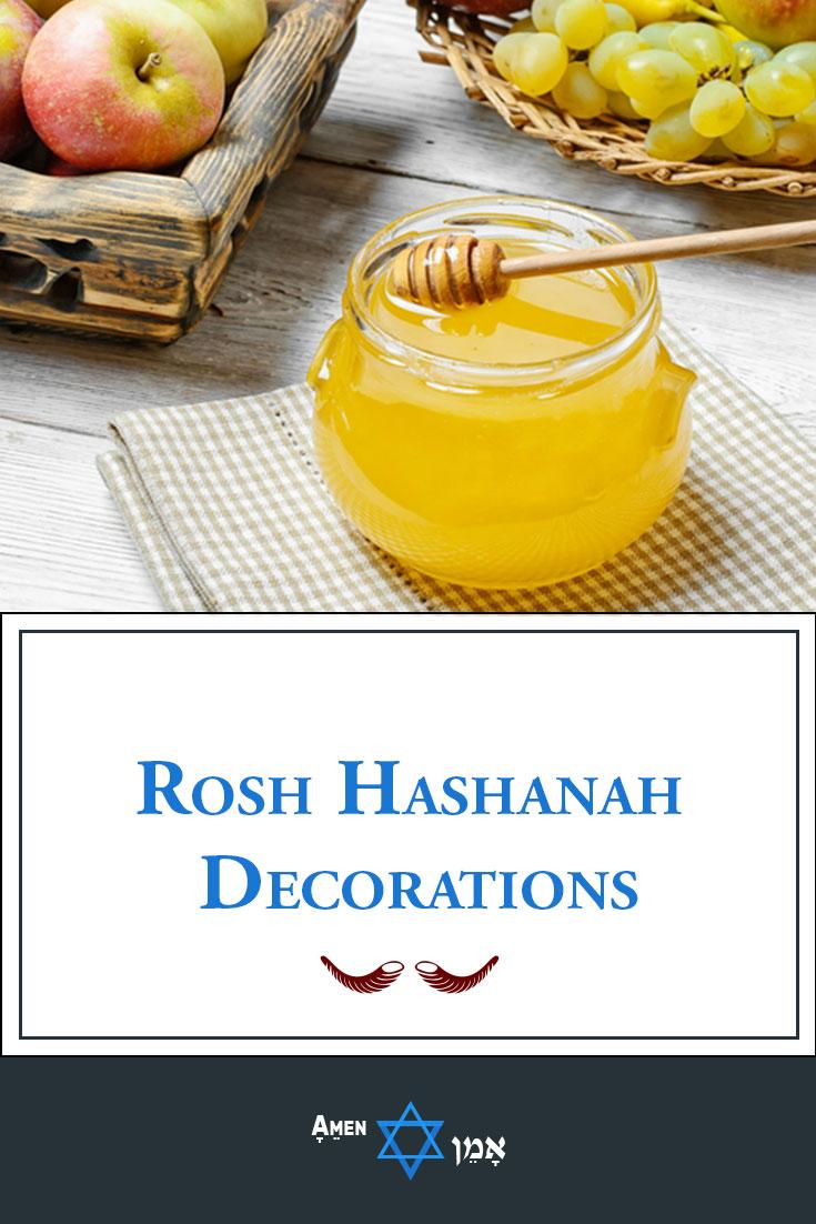 Rosh Hashanah Decorations Large